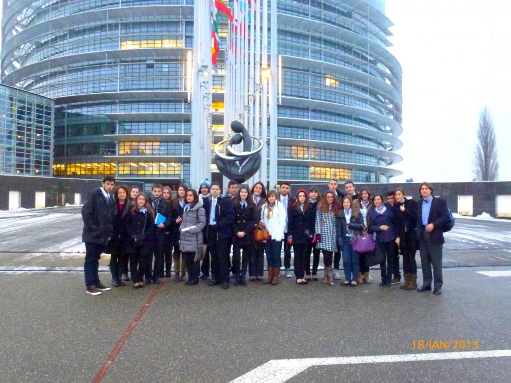 Αποστολή ΠΔΕΔΕ Euroscola 2013