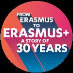 logo 30 years erasmus